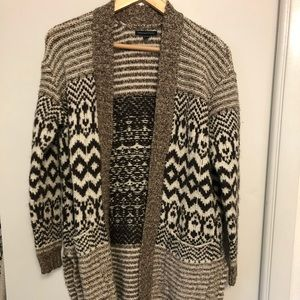 American Eagle Long Sweater Cardigan Sz M